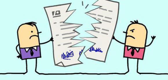 Как рсотргнуть договор аренды письменно